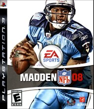 Rent Madden NFL 08 for PS3