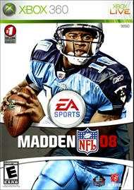 Rent Madden NFL 08 for Xbox 360
