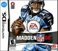 Rent Madden NFL 08 for DS