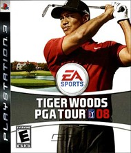 Rent Tiger Woods PGA Tour 08 for PS3