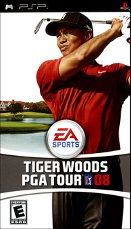 Rent Tiger Woods PGA Tour 08 for PSP Games