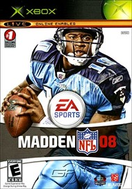 Rent Madden NFL 08 for Xbox