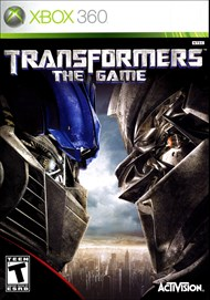Rent Transformers: The Game for Xbox 360