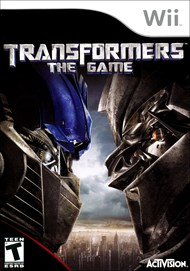 Rent Transformers: The Game for Wii