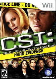 Rent CSI: Hard Evidence for Wii