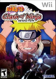 Rent Naruto: Clash of Ninja Revolution for Wii