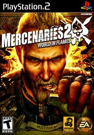 Rent Mercenaries 2: World in Flames for PS2