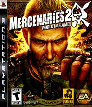 Rent Mercenaries 2: World in Flames for PS3