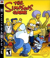 Rent Simpsons Game for PS3