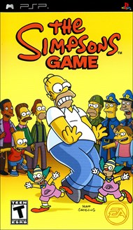 Rent Simpsons Game for PSP Games