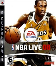 Rent NBA Live 08 for PS3