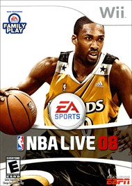 Rent NBA Live 08 for Wii