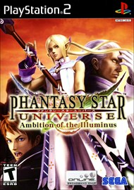 Rent Phantasy Star Universe: Ambition of the Illuminus for PS2