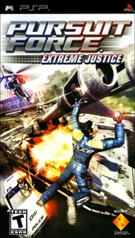 Rent Pursuit Force: Extreme Justice for PSP Games