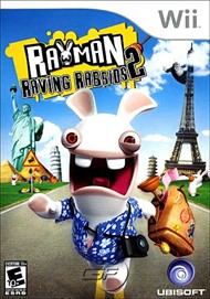 Rent Rayman Raving Rabbids 2 for Wii