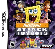 Rent Nicktoons: Attack of the Toybots for DS