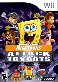Rent Nicktoons: Attack of the Toybots for Wii