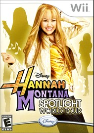 Rent Hannah Montana: Spotlight World Tour for Wii