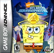 Rent SpongeBob's Atlantis SquarePantis for GBA