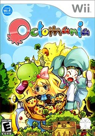 Rent Octomania for Wii