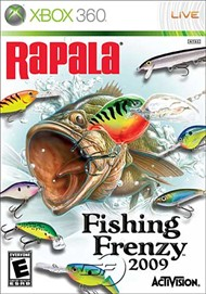 Rent Rapala Fishing Frenzy 2009 for Xbox 360