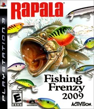 Rent Rapala Fishing Frenzy 2009 for PS3