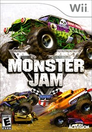 Rent Monster Jam for Wii