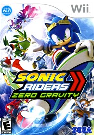 Rent Sonic Riders: Zero Gravity for Wii