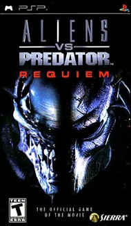 Rent Alien vs Predator: Requiem for PSP Games