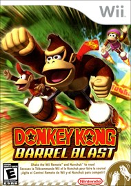 Rent Donkey Kong Barrel Blast for Wii