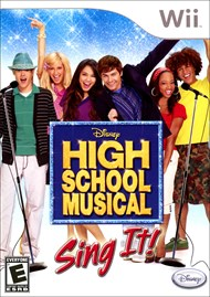 Rent High School Musical: Sing It for Wii