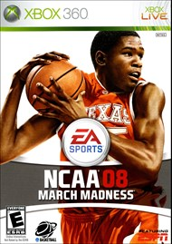 Rent NCAA March Madness 08 for Xbox 360