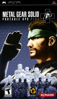 Rent Metal Gear Solid: Portable Ops Plus for PSP Games
