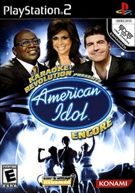 Rent Karaoke Revolution Presents: American Idol Encore for PS2