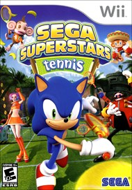 Rent Sega Superstars Tennis for Wii