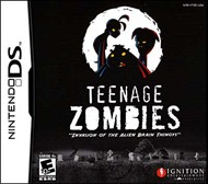 Rent Teenage Zombies: Invasion of the Alien Brain Thingys! for DS