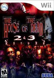 Rent House of the Dead 2 & 3 Return for Wii