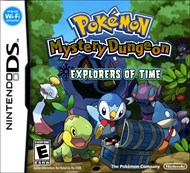 Rent Pokemon Mystery Dungeon: Explorers of Time for DS