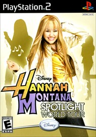 Rent Hannah Montana: Spotlight World Tour for PS2
