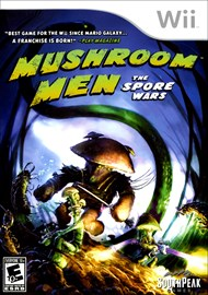 Rent Mushroom Men: Spore Wars for Wii