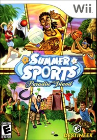 Rent Summer Sports: Paradise Island for Wii