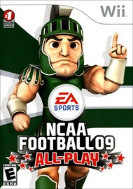 Rent NCAA Football 09 All-Play for Wii
