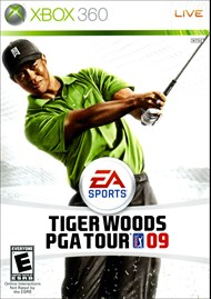 Rent Tiger Woods PGA Tour 09 for Xbox 360