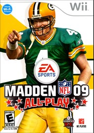 Rent Madden NFL 09 All-Play for Wii
