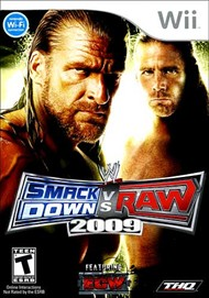 Rent WWE SmackDown vs. Raw 2009 for Wii