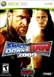 Rent WWE SmackDown vs. Raw 2009 for Xbox 360