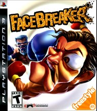 Rent FaceBreaker for PS3