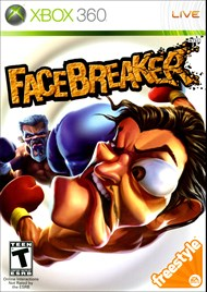 Rent FaceBreaker for Xbox 360