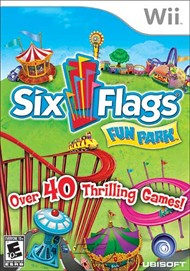 Rent Six Flags Fun Park for Wii