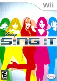 Rent Disney Sing It for Wii